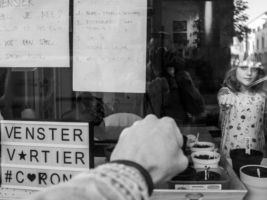 Foto van Karel Saelaert, winnaar derde Grote Prijs Sociale Fotofrafie