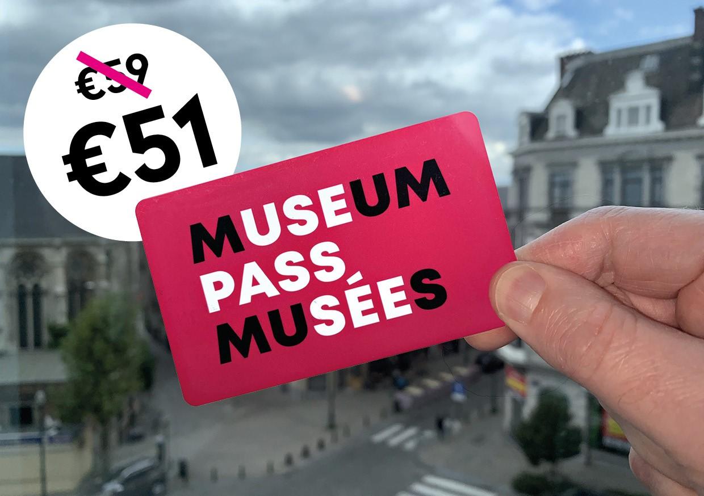 Bestel je Museumpas met korting