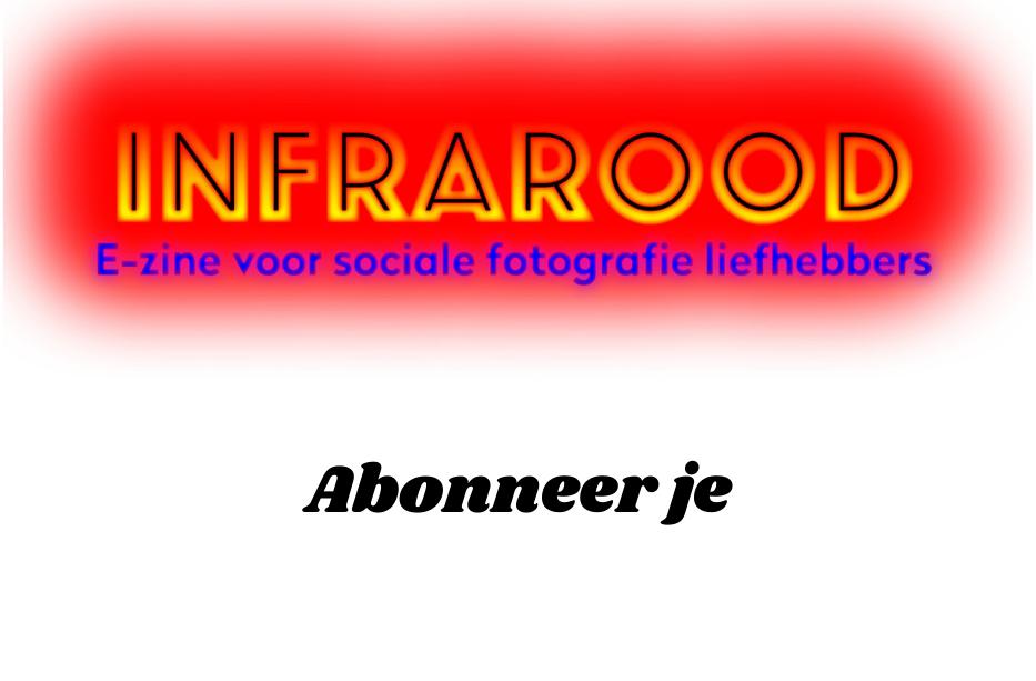 Infrarood E-zine voor sociale fotografie liefhebbers